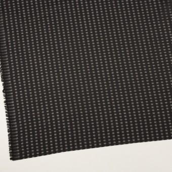 ポリエステル×スクエア(ブラック)×サテンジョーゼット_全2色 サムネイル2