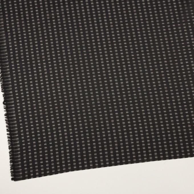 ポリエステル×スクエア(ブラック)×サテンジョーゼット_全2色 イメージ2