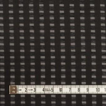 ポリエステル×スクエア(ブラック)×サテンジョーゼット_全2色 サムネイル4