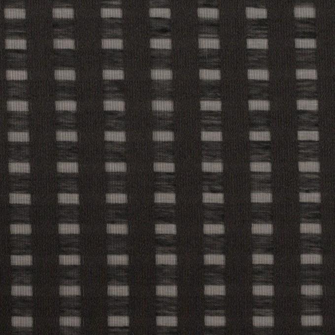 ポリエステル×スクエア(ブラック)×サテンジョーゼット_全2色 イメージ1