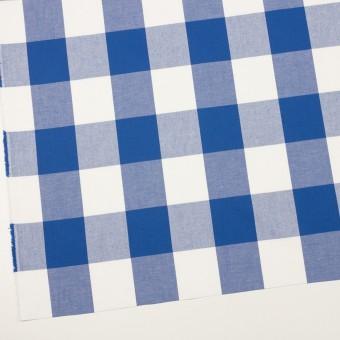 コットン×チェック(オリエンタルブルー)×サージ_全2色 サムネイル2