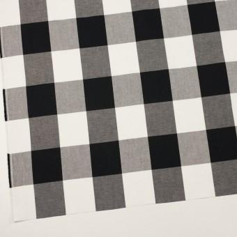 コットン×チェック(ブラック)×サージ_全2色 サムネイル2