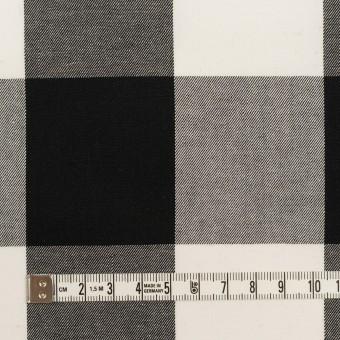 コットン×チェック(ブラック)×サージ_全2色 サムネイル4