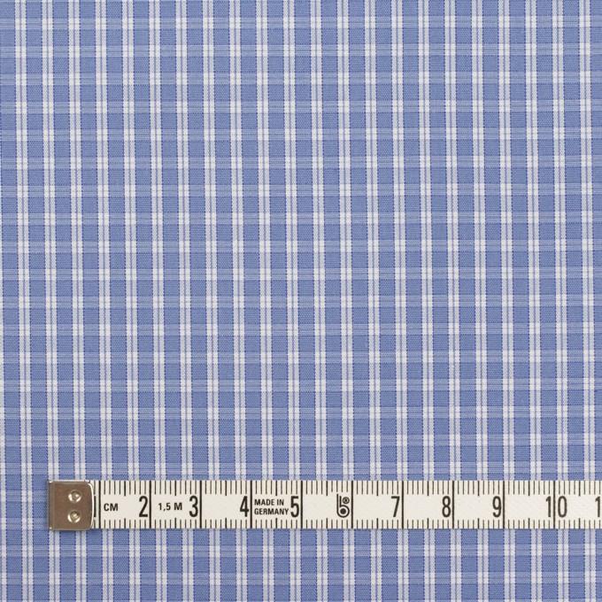コットン×チェック(ヒヤシンスブルー)×ブロード イメージ4