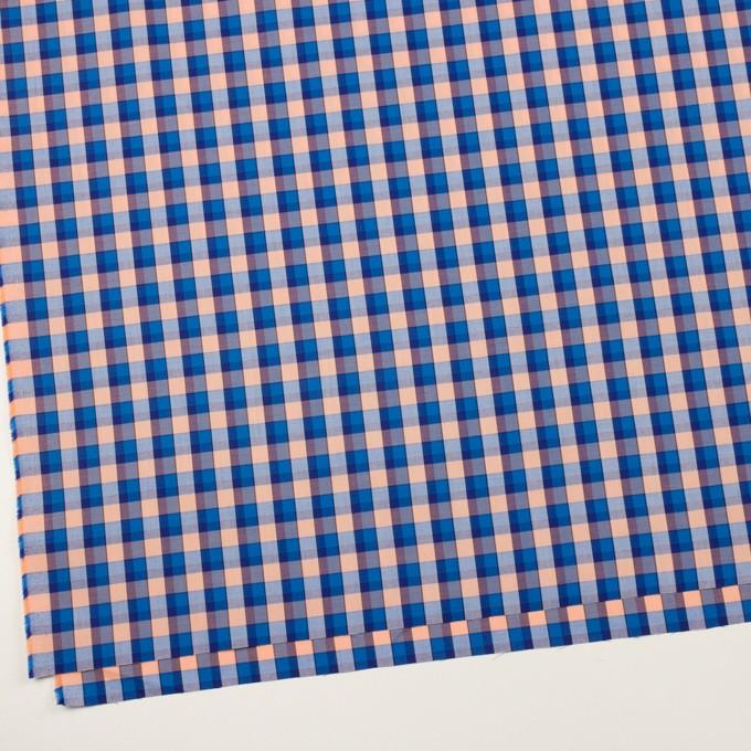 コットン×チェック(ブルー&ネープルス)×サージ イメージ2