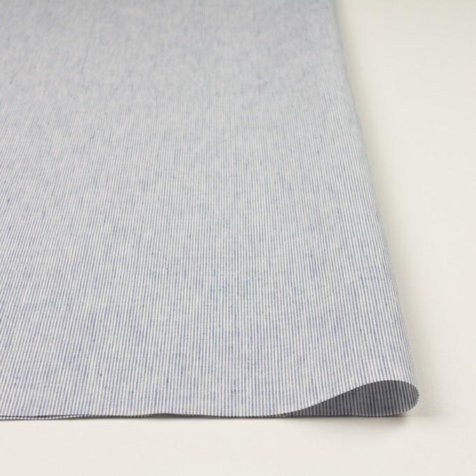 リネン&コットン×ストライプ(ブルー&エクリュ)×キャンバス_全2色 イメージ3