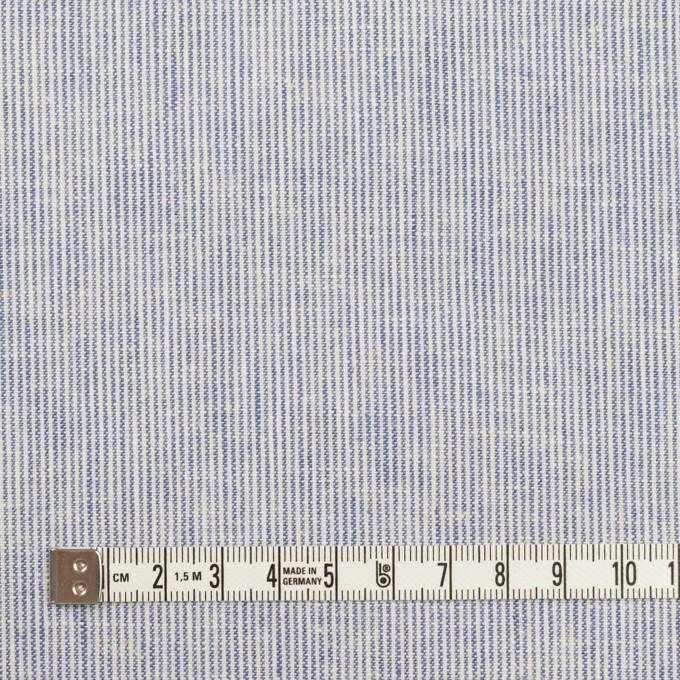 リネン&コットン×ストライプ(ブルー&エクリュ)×キャンバス_全2色 イメージ4