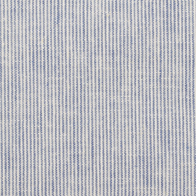 リネン&コットン×ストライプ(ブルー&エクリュ)×キャンバス_全2色 イメージ1
