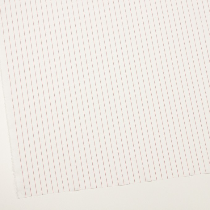 コットン×ストライプ(レッド)×ローン イメージ2
