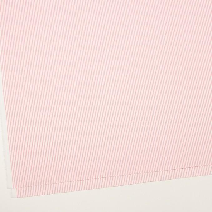 コットン×ストライプ(ピンク)×ヘリンボーン・ジャガード イメージ2
