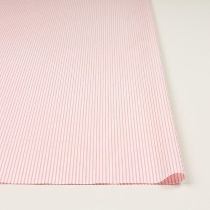 コットン×ストライプ(ピンク)×ヘリンボーン・ジャガード イメージ3