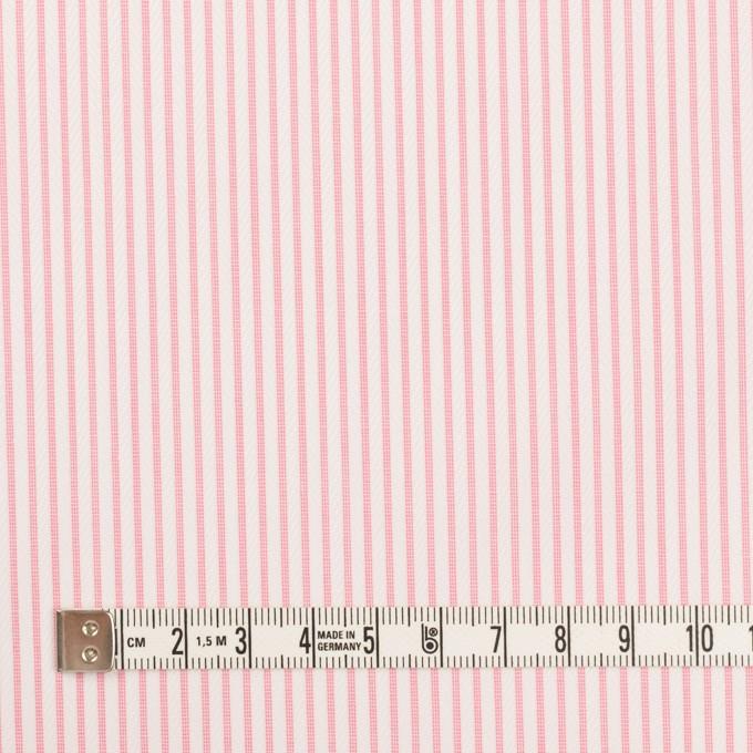 コットン×ストライプ(ピンク)×ヘリンボーン・ジャガード イメージ4