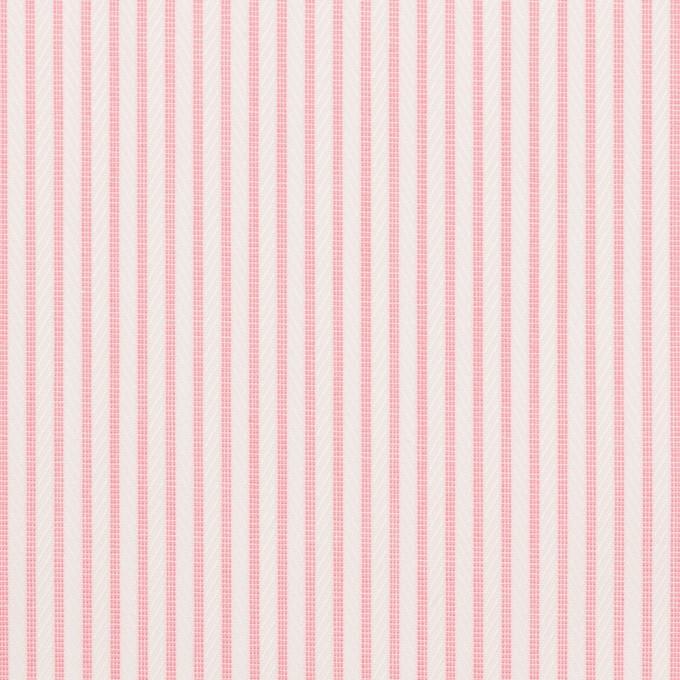 コットン×ストライプ(ピンク)×ヘリンボーン・ジャガード イメージ1