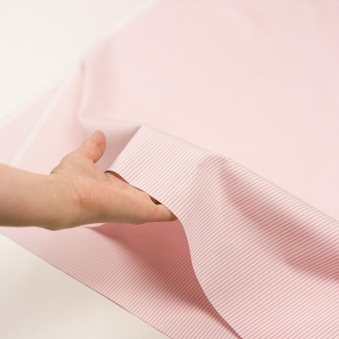 コットン×ストライプ(ピンク)×ヘリンボーン・ジャガード イメージ5