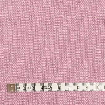 コットン×ミックス(チェリーピンク)×ヘリンボーン サムネイル4