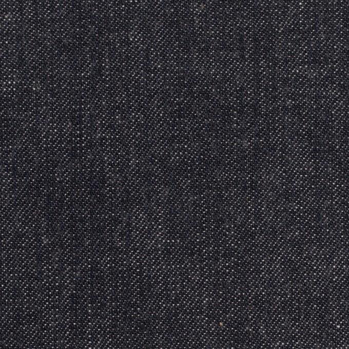コットン×無地(インディゴ)×セルビッチ・デニム(10oz) イメージ1