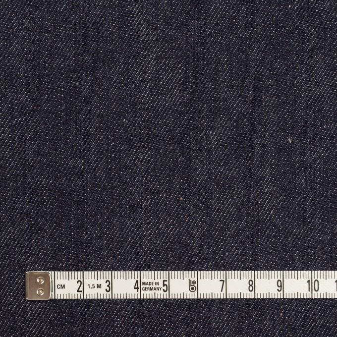 コットン×無地(インディゴ)×セルビッチ・デニム(11oz) イメージ4