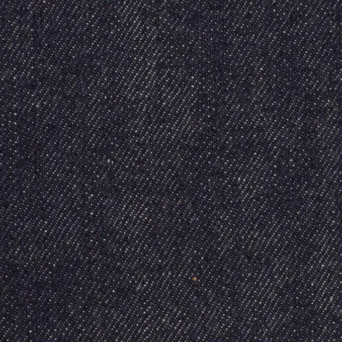 コットン×無地(インディゴ)×セルビッチ・デニム(11oz) イメージ1