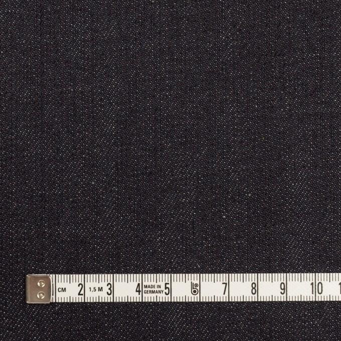 コットン×無地(インディゴ)×セルビッチ・デニム(13.5oz) イメージ4