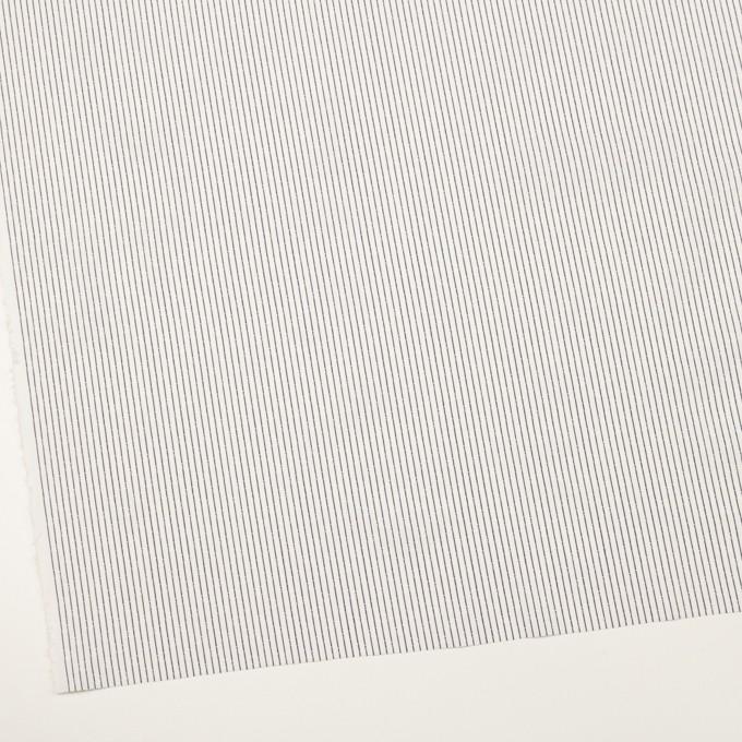 コットン×ストライプ(チャコール)×ブロード・ジャガード イメージ2