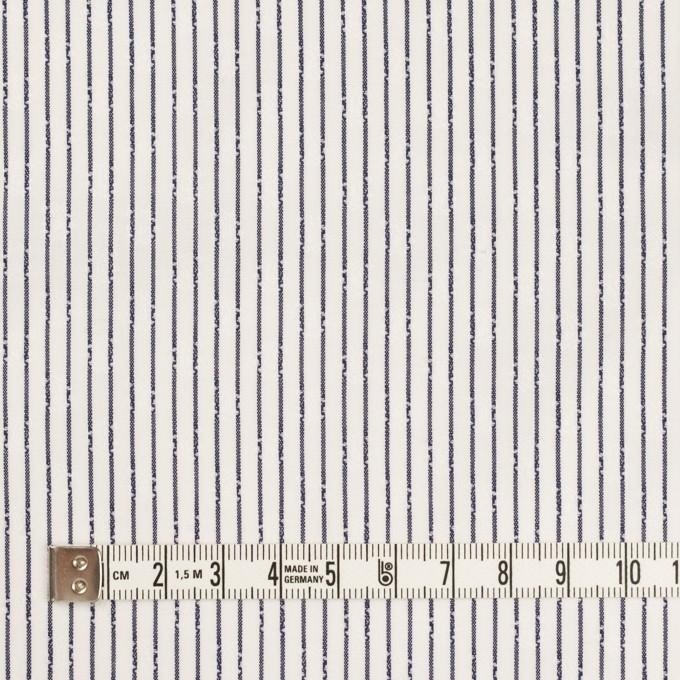 コットン×ストライプ(チャコール)×ブロード・ジャガード イメージ4