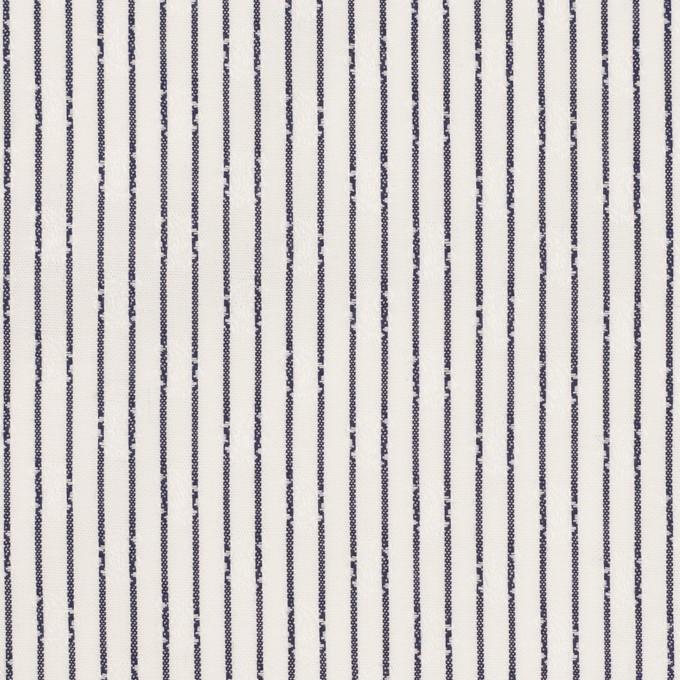 コットン×ストライプ(チャコール)×ブロード・ジャガード イメージ1