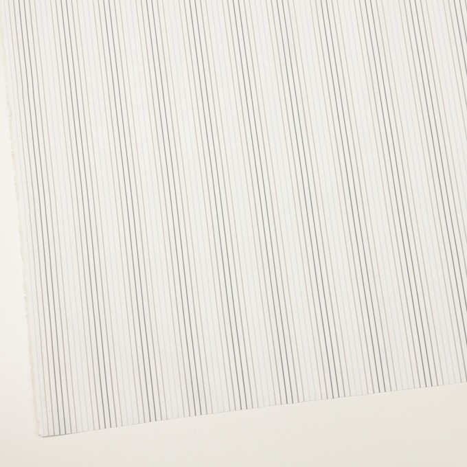 コットン×ストライプ(ペールブルー、グレー&チャコール)×ブロード イメージ2