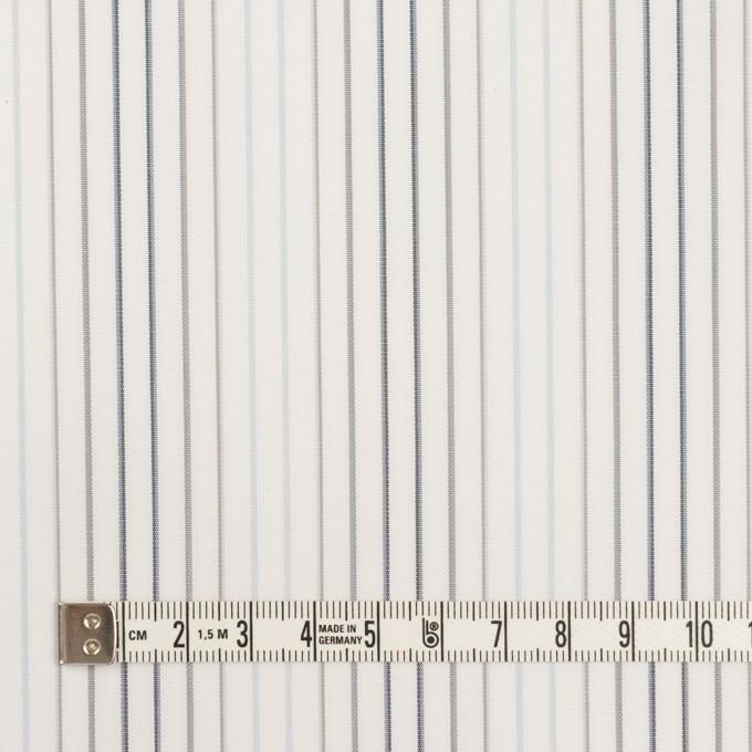 コットン×ストライプ(ペールブルー、グレー&チャコール)×ブロード イメージ4