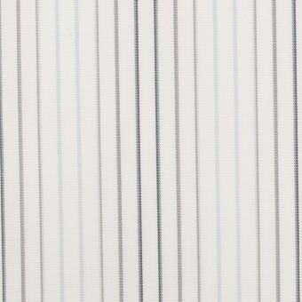 コットン×ストライプ(ペールブルー、グレー&チャコール)×ブロード サムネイル1