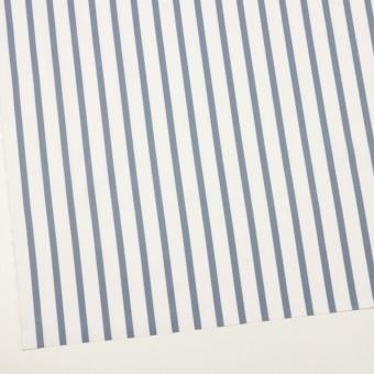 コットン×ストライプ(ブルーグレー)×ブロード サムネイル2