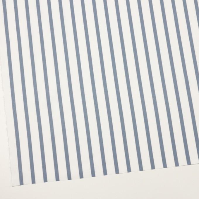 コットン×ストライプ(ブルーグレー)×ブロード イメージ2