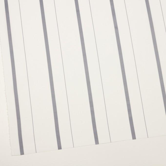 コットン×ストライプ(グレー)×ブロード・ジャガード イメージ2