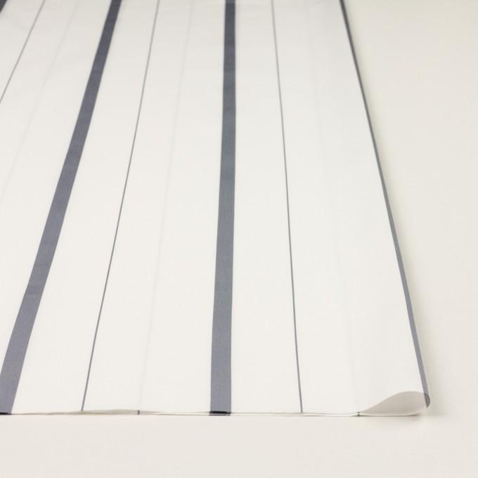 コットン×ストライプ(グレー)×ブロード・ジャガード イメージ3