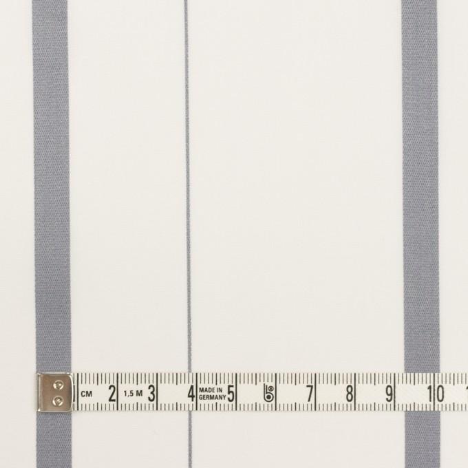 コットン×ストライプ(グレー)×ブロード・ジャガード イメージ4