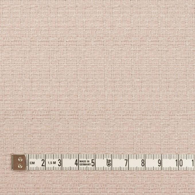 コットン&レーヨン×無地(アッシュローズ)×ファンシーツイード イメージ4