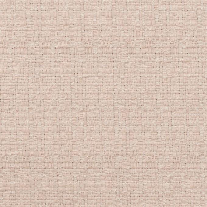 コットン&レーヨン×無地(アッシュローズ)×ファンシーツイード イメージ1