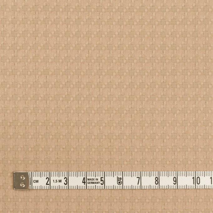 コットン&ポリエステル×スクエア(ベージュ)×ジャガード イメージ4
