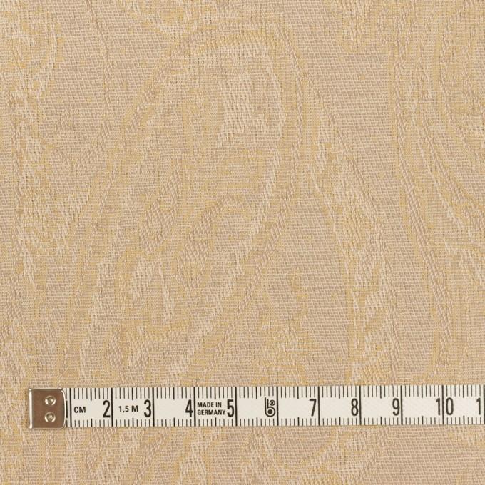 コットン×ペイズリー(ベージュ)×ジャガード イメージ4