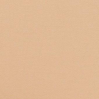 コットン&ポリウレタン×無地(ウォームベージュ)×サテンストレッチ サムネイル1