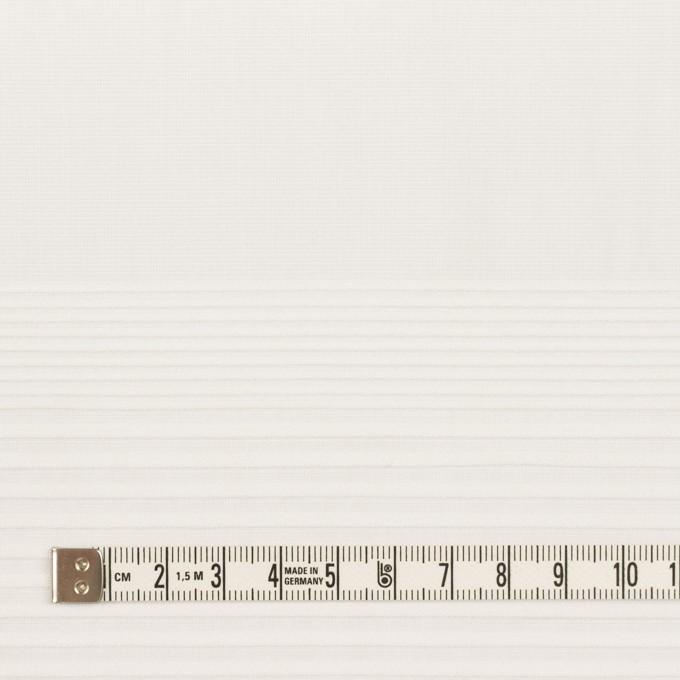 コットン×ボーダー(ホワイト)×ボイルピンタック イメージ4