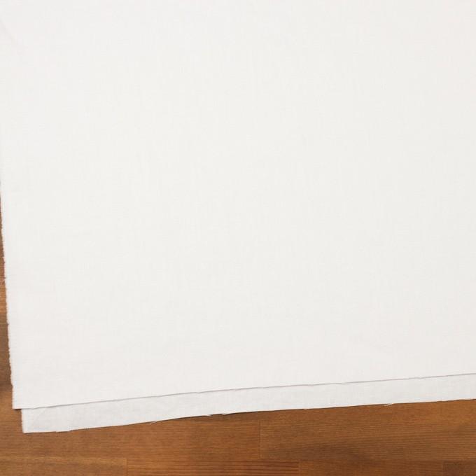 リネン×無地(ホワイト)×サージ イメージ2