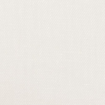 リネン×無地(ホワイト)×サージ
