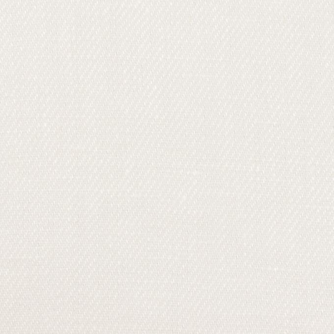 リネン×無地(ホワイト)×サージ イメージ1