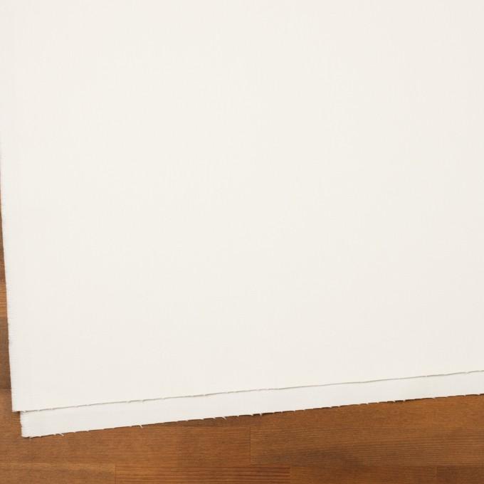 コットン&ポリウレタン×無地(ミルク)×カツラギストレッチ イメージ2