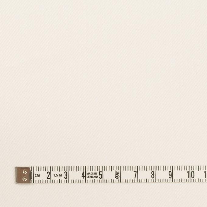 コットン&ポリウレタン×無地(ミルク)×カツラギストレッチ イメージ4