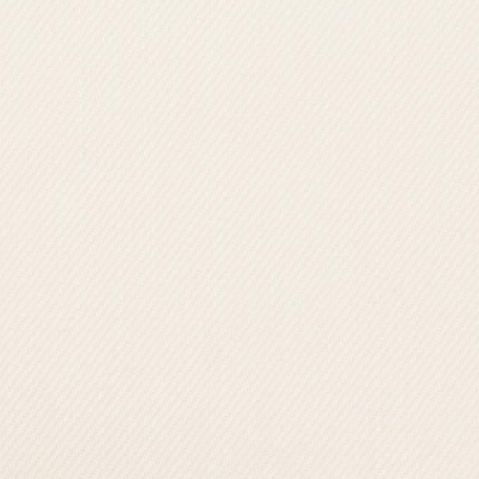 コットン&ポリウレタン×無地(ミルク)×カツラギストレッチ イメージ1