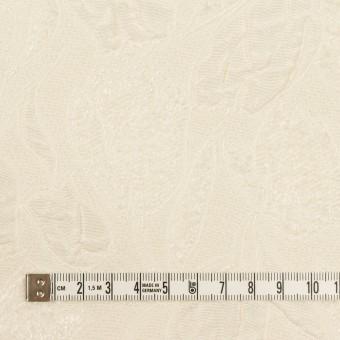ポリエステル×フラワー(クリーム)×ジャガード_全2色 サムネイル4