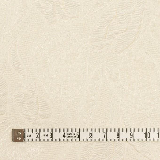 ポリエステル×フラワー(クリーム)×ジャガード_全2色 イメージ4