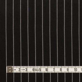 レーヨン&シルク×ストライプ(ブラック)×シフォン サムネイル4