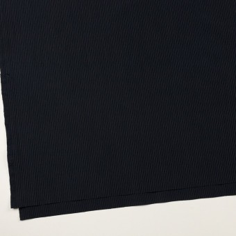 コットン&リヨセル×ストライプ(ダークネイビー)×高密ポプリン サムネイル2